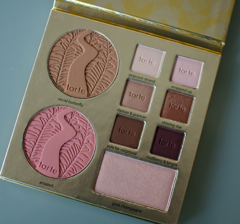 tarte light of the party collectors make up case extra palette
