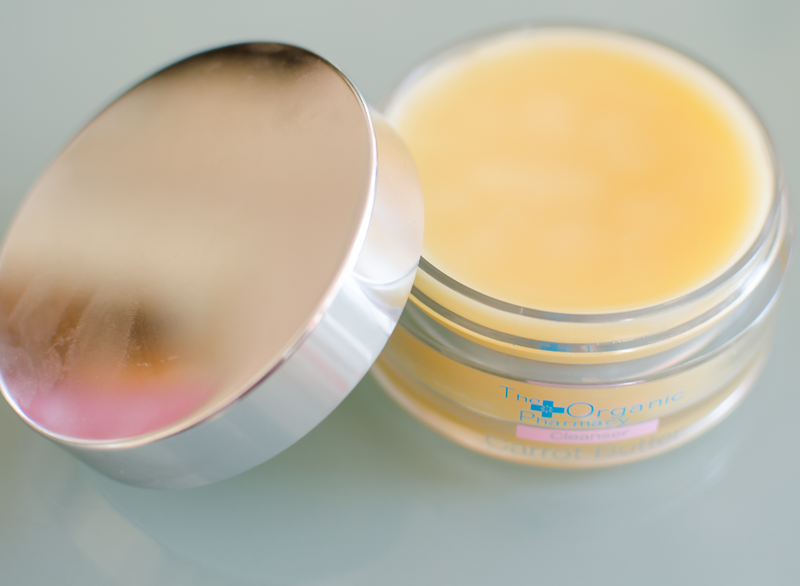 Test av The Organic Pharmacy Carrot Butter Cleansing Balm