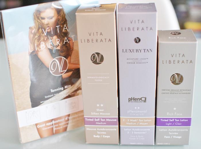 På Daisy Beauty Kryssningen så var Vita Liberata med och presenterade sina brun utan sol produkter