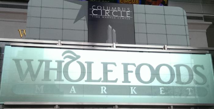Whole foods i new york vid Columbus Circle