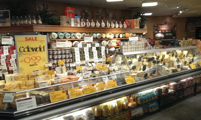Ostdisken!! Jag som älskar ost blev helt till mig, var tvungen att köpa lite ost och testa, gott!!